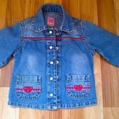 Пиджак джинсовый Gloria Jeans на 3-5лет