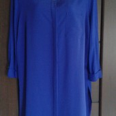 Фирменная красивая блуза-рубашка в состоянии новой вещи р. 16-18