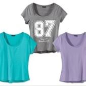 Полная распродажа!! Стильная,модная футболочка Esmara Германия евро 40/42 В оригинальной упаковке