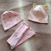 Новые шапочки и хомут (мой пролет с размером)