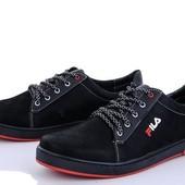 Мужские демисезонные, качественные кроссовки Fila 40-45рр, только по одному размеру