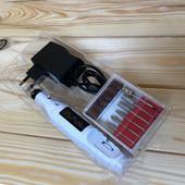 Фрезерная ручка, фрезер-ручка для маникюра Sewa с блоком питания ( переносная) цвет белый