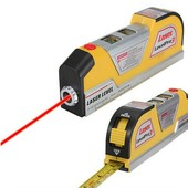 Уровень лазерный строительный с рулеткой 2,5м! Очень удобный и компактный! Укрпочта со скидкой 5%