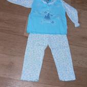 Пижама для девочки 2-3 лет 100% хлопок Kazan