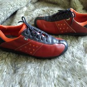 Кожаные кроссовки в идеале, стелька 24см, Италия