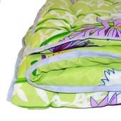 Одеяло силиконовые 1.5× 2.10 с подшивным краем