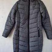 куртка Lee Cooper р. S зимняя удлиненная с капюшоном