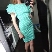 Хлопковое платье с крылышками