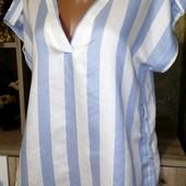 Собираем лоты!! Блуза в полоску, размер 10