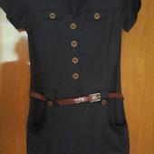 стильное платье размер 48 коттон 100%