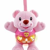 Развивающая игрушка музыкальный мишка vtech розовый