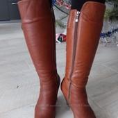 Зимние сапожки от Viscala, c натуральной кожи, 40 размер