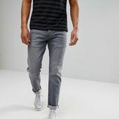 Мужские серые джинсы Kenno. размер 30 (М).