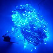 3 вида Новогодних гирлянд! 9 метров светодиодная LED!!! Однотонные и цветные.