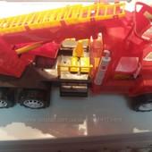 пожарная машина большая