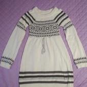 Теплое платье 44-46р. Состояние идеал!