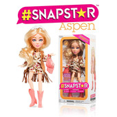 Кукла шарнирная оригинал Snapstar Aspen 23 см