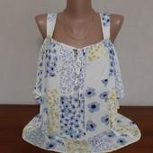 Очень красивая блуза с открытыми плечиками р-р 50