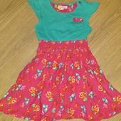 Платье очень красивое яркое 2-4года замеры на фото