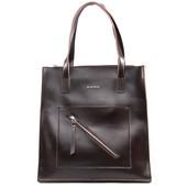 Акционная Фирменная кожаная сумка от Alex Rai