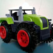 Последний!!!Классный Трактор Перевертыш,на батарейках. отличный подарок Вашим малышам.