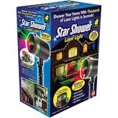 Уличный новогодний лазерный проектор, проэктор, лазерная установка Star shower Laser Light