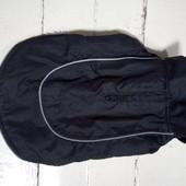 Курточка накидка для маленького песика Довжина накидки 28см