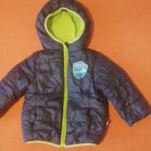 Отличная куртка для мальчика. Холодная весна. размер 80