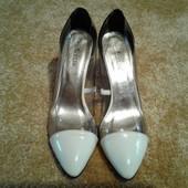 Шикарные модельные туфли 41р