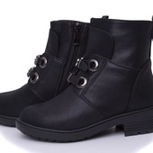 Ботинки демисезонные на модницу,моделька и качество супер!Последние