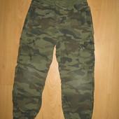 """Отличное состояние!Хлопковые джинсы-джогеры """"Милитари""""6-7 л и р 116-122 см!"""
