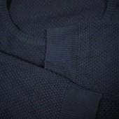 Базовый черный свитер очень большого размера, Пог 78-100, сост. отличное