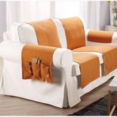 Комплект накидок на диван meradiso германия.Расцветка как на фото.