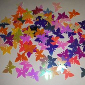Бабочки ассорти 200шт