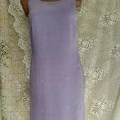 Шифоновое платье с вышивкой Amaranto