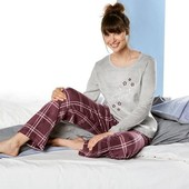 Очаровательная плюшевая пижама! Esmara размер евро 44/46