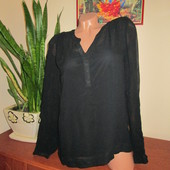 Збираємо лоти! Шифонова блуза на підкладці Street One Розм. 40