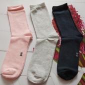 Лот-3пары.Удобные хлопковые носки 39-42р Pepperts Германия,много лотов