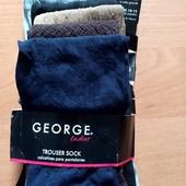 Лот 6 пар носки гольфы George безразмерные 80 ден