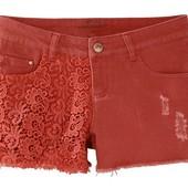Классные джинсовые шорты от Esmara Германия, нем 36 смотрите замеры!