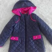 Весняна курточка для дівчинки розмір 104
