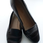 Туфли,лоферы,Clarks,полная кожа,24,5 стелька,идеальные.