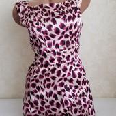 Стильное платье с красивым принтом