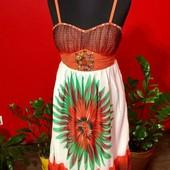 Красивое летнее женское платье whole folks 44-46