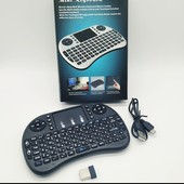 Беспроводная клавиатура с тачпадом Keyboard wireless mvk08/i8 + Touch, мультимедийная Wi-Fi клавиату