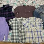 Мегалот 6 вещей на 10-11 лет джинсовая куртка кофта блузка жилетка