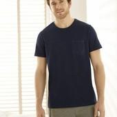 Модная хлопковая мужская футболка Livergy. Размер L, евро 52-54
