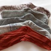 Лот 5 пар!!! Качественные женские носки от Tchibo (Германия), размеры: 35-38