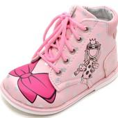 Модные демисезонные ботинки В&G (разм. 25 - стелька 15,7 см)
