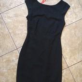 Платье футляр Zara,фактурная ткань в узор